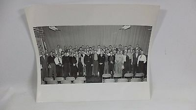 Original Studebaker Corporation Factory Employee Photo Meeting Picture Workers