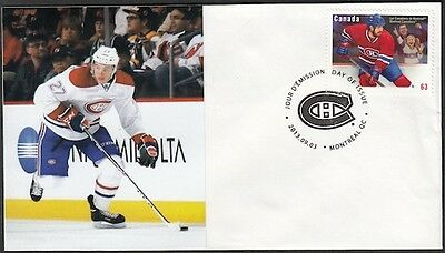 CANADA Sc #2671 (43) MONTREAL CANADIANS ALEX GALCHENYUK on FIRST DAY COVER