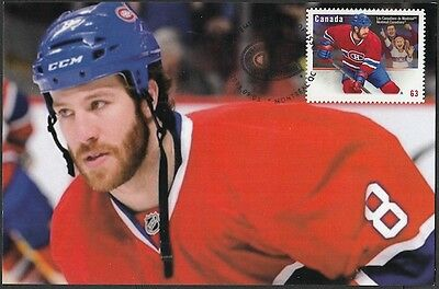 CANADA  #2671.83 - MONTREAL CANADIANS HOCKEY BRANDON PRUST on MAXIMUM CARD