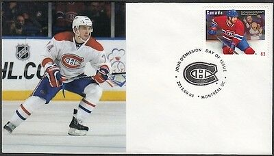 CANADA Sc #2671 (51) MONTREAL CANADIANS ALEXEI EMELIN on FIRST DAY COVER