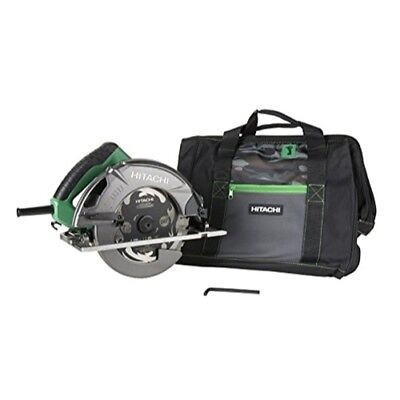 "Hitachi C7SB3 15 Amp 7-1/4"" Circular Saw 0-55° Bevel Capacity, Blower Function,"