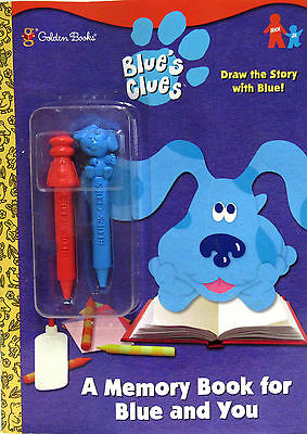 BLUE\'S CLUES A Memory Book for You and Blue Coloring Book with ...