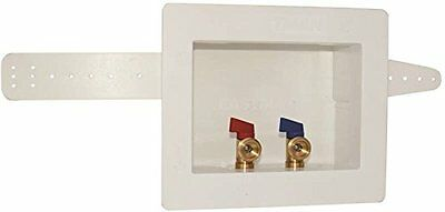 Eastman 60244  1/2-Inch Cpvc Dual Outlet Washing Machine Outlet Box
