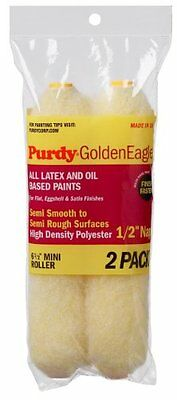 Purdy Golden Eagle Roller 6-1/2-Inch Paint Roller Cover 2-Pack 1/2-Inch Nap