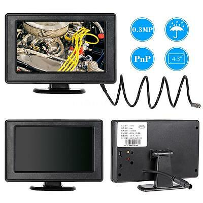 "1 Meter Endoscope Snake Camera Video Dvr 4.3"" Monitor Borescope Tube Hot E1J1"