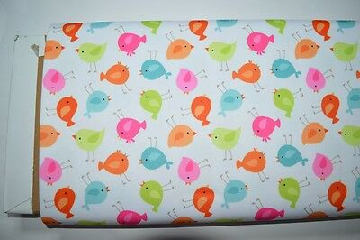 Babyville PUL Waterproof Diaper Fabric BTY - Little Birds