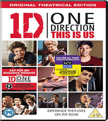 One Direction - This Is Us (DVD)2013*BRAND NEW*REGION 2*SEALED*SAME DAY DISPATCH