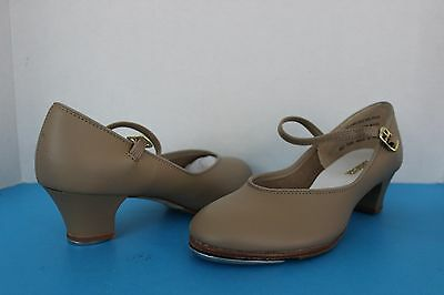 Balera Womens or Youth Girls Tan TAP Dance SHOES ~Size 6 M~ Recital Performance