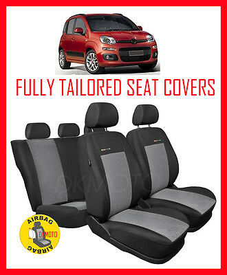 Tailored seat covers for Fiat Panda  2011- on    FULL SET   - 2
