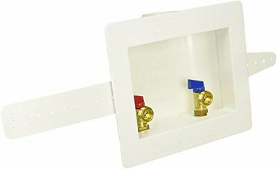 Eastman 60248 Sweat Center Drain Washing Machine Outlet Box, 1/2-Inch