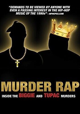 Murder Rap: Inside The Biggie & Tupac Murders (2017, DVD NUEVO) (REGION 1)
