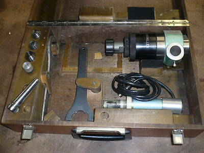 Charmilles EDM rotating spindle, collet chuck, #2