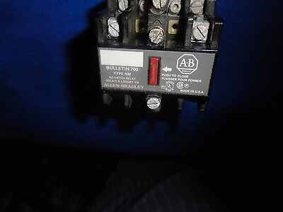 "New In Box Old Stock Allen Bradley 700-Nm400A1 Type Nm Series ""e"" Latch Relay"