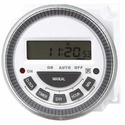 NWA 240VAC Digital Mains Timer Switch Module