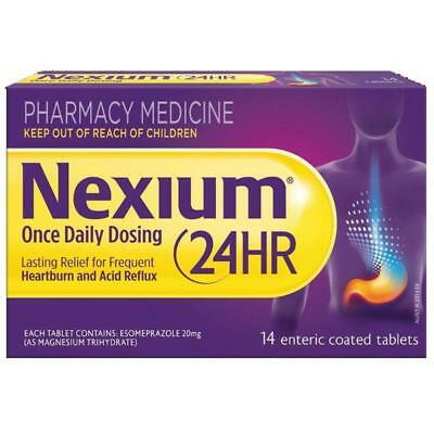 * Nexium 24 Hour 20Mg 14 Tablets Heartburn & Acid Reflux Lasting Relief Gord