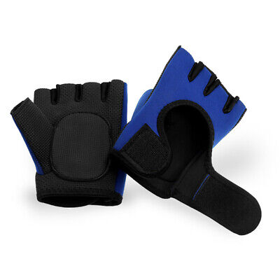 New Gym Gloves Weight Lifting Workout Wrist Exercise Women Men Training Straps