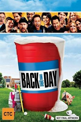Back In The Day (Blu-ray, 2015) Brand New, Genuine & Sealed  - Free Postage D40
