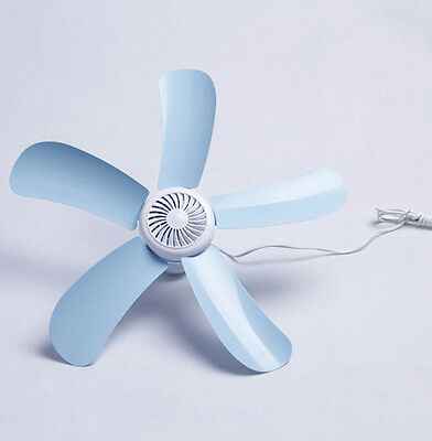 1Pcs Fan Mini Gift Cooler Quiet Ceiling Summer Simple Soft Small Kids Hanging