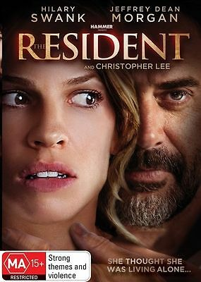 The Resident (DVD, 2011) Brand New, Genuine & Sealed  - Free Postage Aus D42
