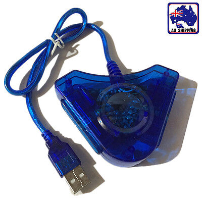 PS2 Playstation Joypad Controller to PC USB Converter Triangle Adapter EUSB53502