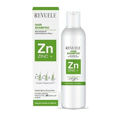 Revuele ZINC+ Hair Care Against All Types of Dandruff with Natural Extract