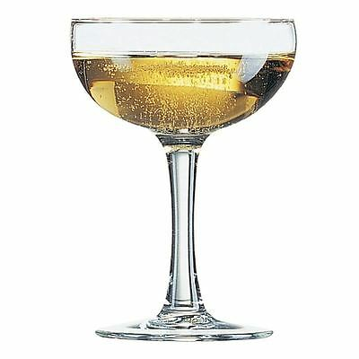 Arcoroc Elegance Champagne Coupe Glasses 160ml Cocktail Wine Beer Glass Barware