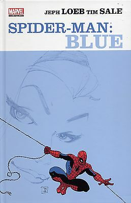SPIDER-MAN:BLAU deutsch HC Variant-Hardcover lim.222 JEPH LOEB+TIM SALE Blue 1-6