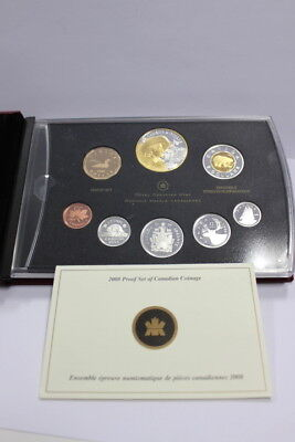 2008 Proof set of Canadian Coiage