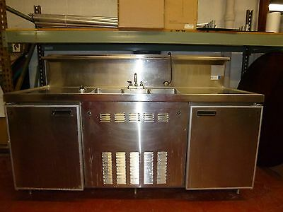 Stainless Steel commercial sinks/refrigerators