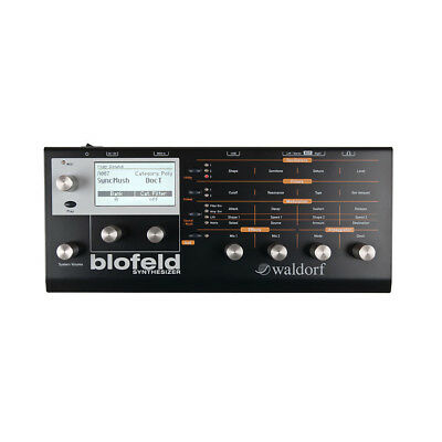 Waldorf Blofeld Desktop Wavetable Synth (Black)