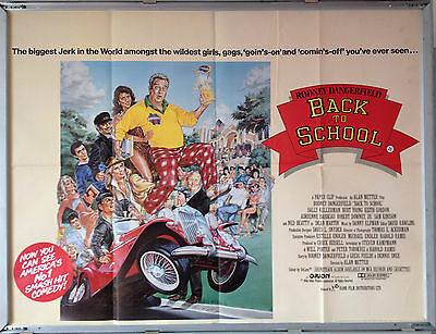 Cinema Poster: BACK TO SCHOOL 1986 (Quad) Rodney Dangerfield Sally Kellerman