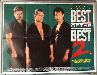 Cinema Poster: BEST OF THE BEST 2 1993 (Quad) Eric Roberts Phillip Rhee