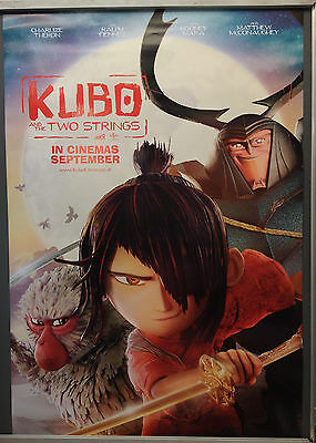 Cinema Poster: KUBO AND THE TWO STRINGS 2016 (Main One Sheet) Charlize Theron