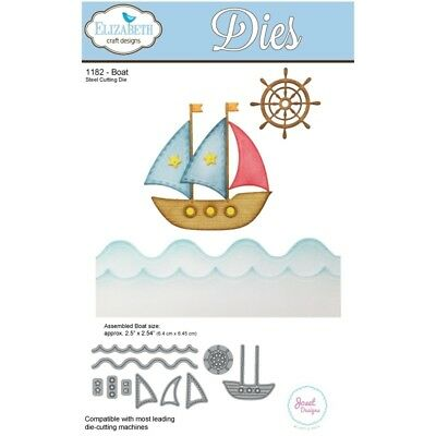 Elizabeth Craft Designs Boat Steel Cutting Die ECD1182