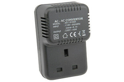 Step Up Voltage Convertor to allow 240v UK items to be powered from 110v Mains O