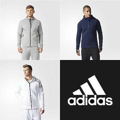 Adidas Felpe Tuta Tracktop Athletics Running Sport Men Uomo