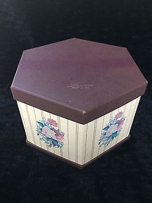 Vintage Ralph Lauren Hat Box Floral Rose Women's Hat box