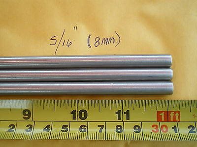 "1 Pcs. Stainless Steel Round Rod 302. - 5/16"" (.315"") (8Mm.) X 12"" Long"