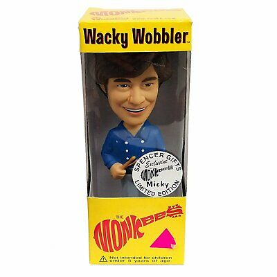 The Monkees: 2002 Funko Micky Dolenz Wacky Wobbler Spencer Limited Edition (C2)