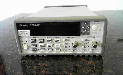 Agilent Keysight 53132A 225 MHz Universal Counter - 12 digit/s, 150 ps *Works*