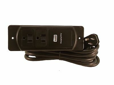 Eectrical outlet for furniture Furnlite fc-737 with USB charging