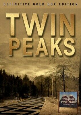 Twin Peaks: The Definitive (Gold Box Edition) (2017, DVD NUEVO)10 DIS (REGION 1)