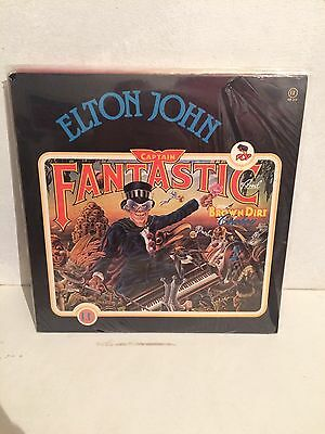 Elton John Captain Fantastic And The Brown Dirt Cowboy LP Vinyl RB313 Ita Sealed