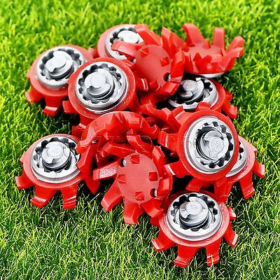 14×Golf Shoe Spikes Fast Twist Cleat Changing System Replace For Footjoy Tri-Lok