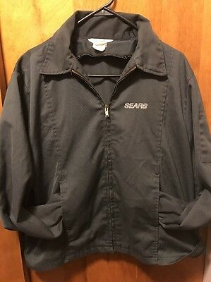 SEARS AUTO ~ VINTAGE 1970s RARE ~ MECHANIC WORK Jacket Muscle Car