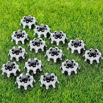 Pro 14Pcs Soft Golf Shoe Spikes Fast Twist Studs Tri-Lok For Footjoy Wholesale