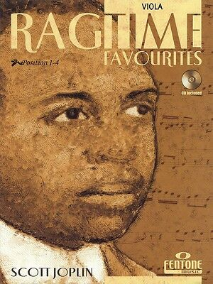 Ragtime Favourites by Scott Joplin - Viola Music Book with CD