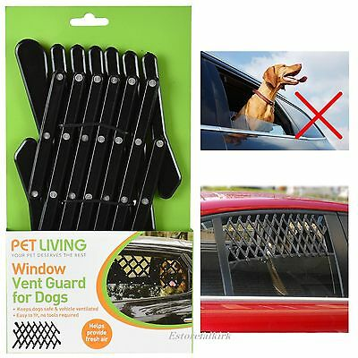 Puppy Protection Travel Universal Vehicle Pet Car Window Vent Safe Guard For Dog