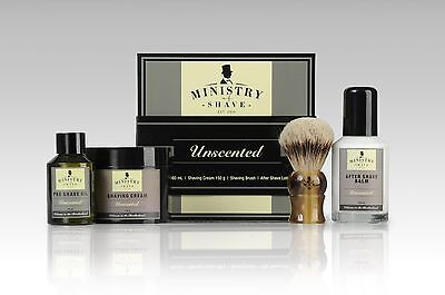 Ministry of Shave Unscented Shaving Kit- Made in Australia
