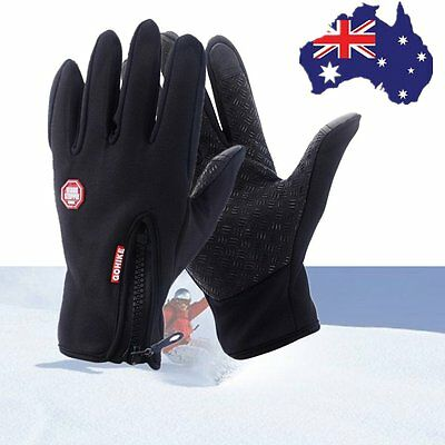 Men Women Outdoor Climbing Cycling Sports Full Finger Touch Screen Gloves ^